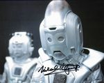 Michael Kilgarriff  DOCTOR WHO Cyber Leader genuine signed autograph 10x8 COA 11437